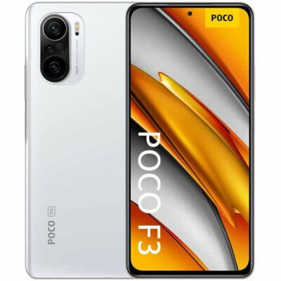 Téléphones neufs Xiaomi Poco F3 5G Blanc 1 en Martinique, en Guadeloupe, en Guyane et à la Réunion