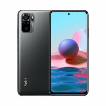 Téléphones neufs Xiaomi Redmi Note 10 Noir 1 en Martinique, en Guadeloupe, en Guyane et à la Réunion