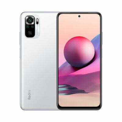 Téléphones neufs Xiaomi Redmi Note 10S Blanc 1 en Martinique, en Guadeloupe, en Guyane et à la Réunion