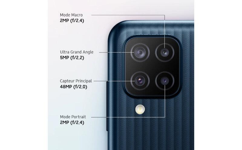Téléphones neufs Description Smartphone Samsung Galaxy M12 2 en Martinique, en Guadeloupe, en Guyane et à la Réunion