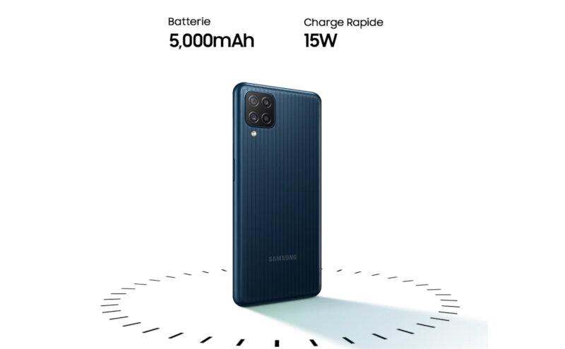 Téléphones neufs Description Smartphone Samsung Galaxy M12 3 en Martinique, en Guadeloupe, en Guyane et à la Réunion