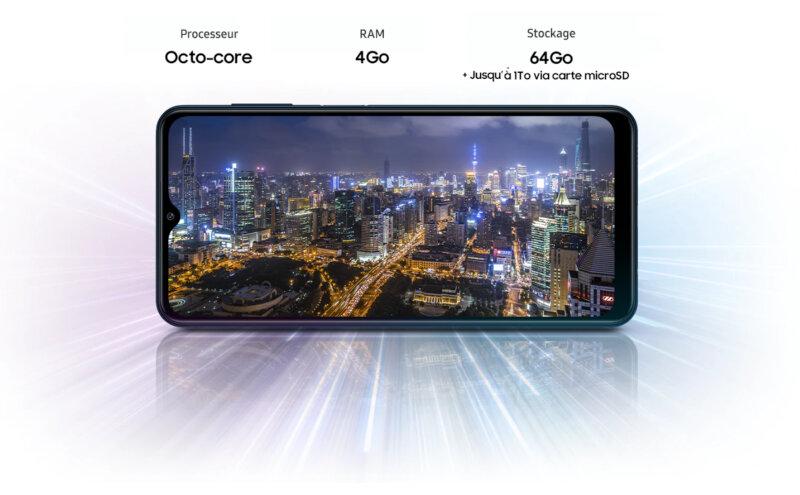 Téléphones neufs Description Smartphone Samsung Galaxy M12 4 en Martinique, en Guadeloupe, en Guyane et à la Réunion