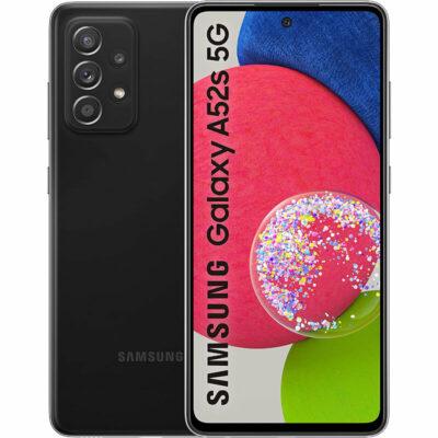 Téléphones neufs Smartphone Samsung Galaxy A52s 5G Noir 1 en Martinique, en Guadeloupe, en Guyane et à la Réunion
